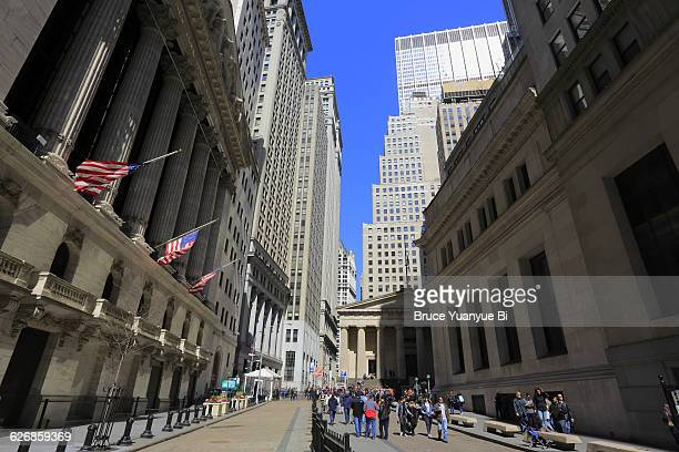 The New York Stock Exchange and Broad Street