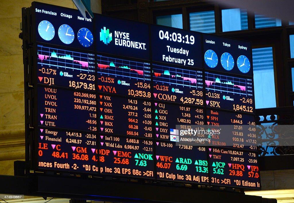 New York Stock Exchange : News Photo