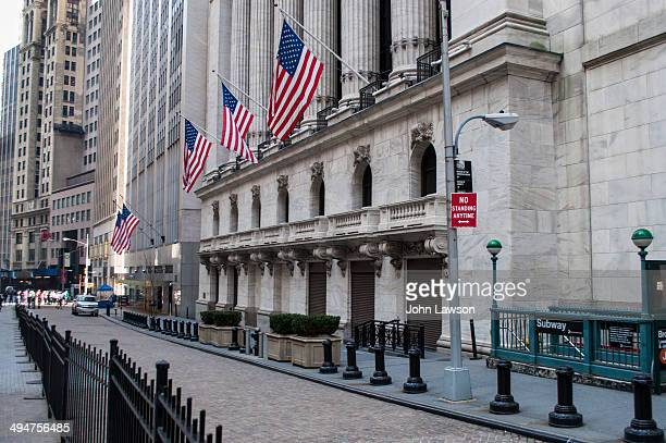 """The New York Stock Exchange , sometimes known as the """"Big Board""""."""