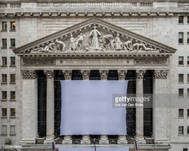 the new york stock exchange vasade - eric van den brulle stock pictures, royalty-free photos & images