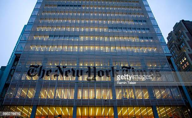 The New York Times building designed by Renzo Piano due to be completed in late 2007 is already occupied by the paper's employees on Eight Avenue and...
