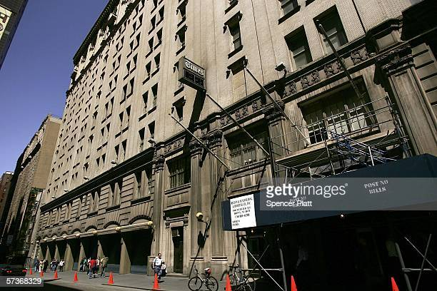 The New York Times building is seen April 19 2006 in New York City Registering their dissatisfaction with the company's performance 28% of investors...