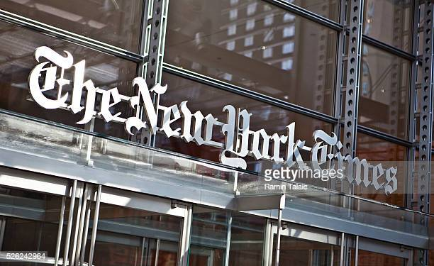 The New York Times headquarters in midtown Manhattan in New York City on Friday August 6 2010