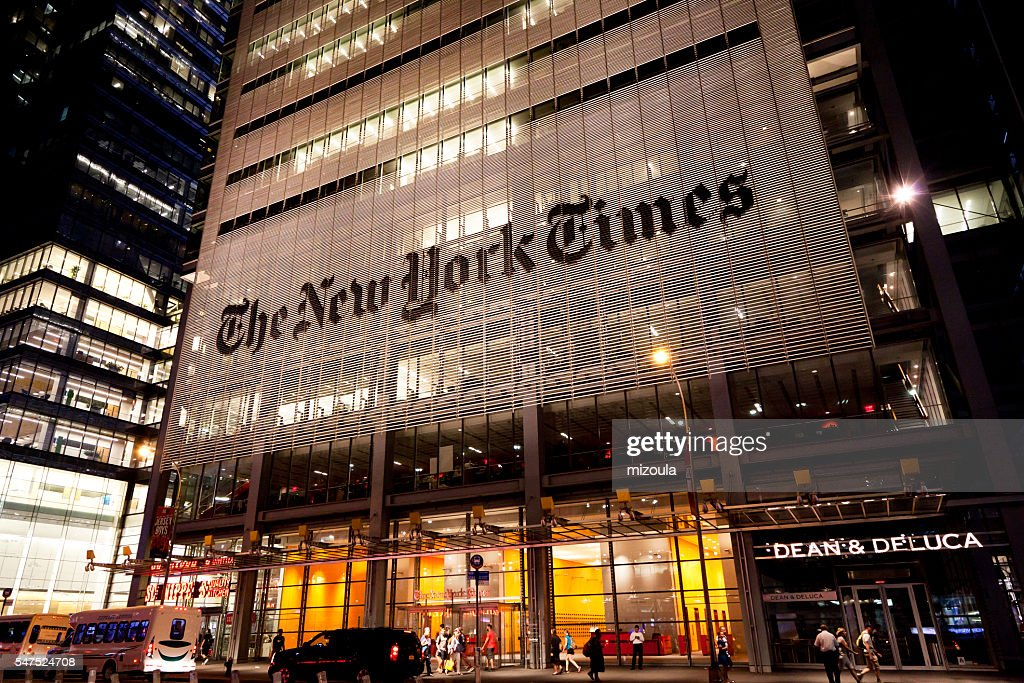 The New York Times : Stock Photo