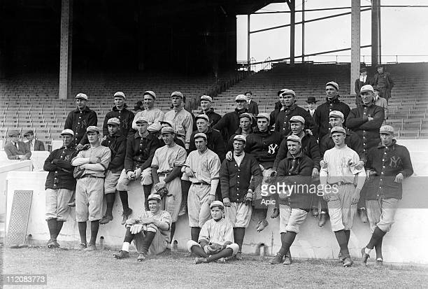 The New York Yankees april 4 1913