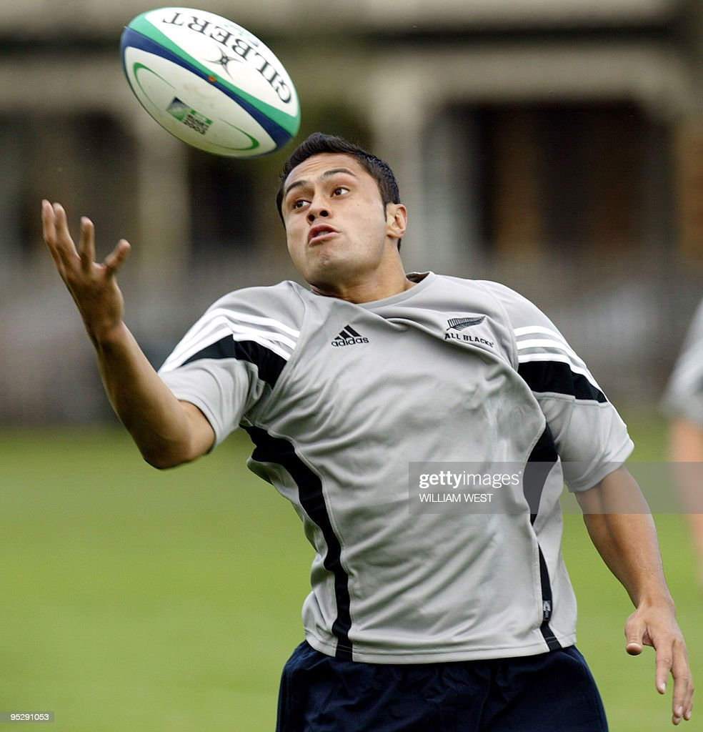 The New Zealand All Blacks replacement b : News Photo