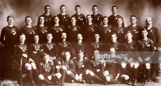 The New Zealand All Blacks Rugby Team the first rugby team to undertake a tour outside of Australasia who became known as 'the originals' when they...