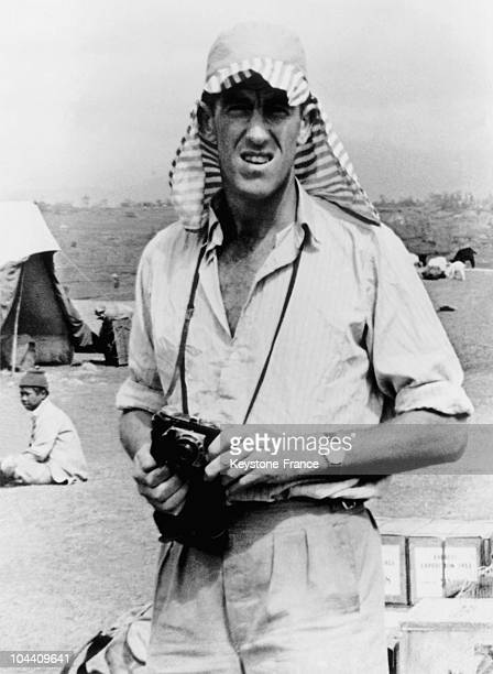 The New Zealand mountain climber Sir Edmund HILLARY the first climber to reach the highest summit in the world Mt Everest in June 1953