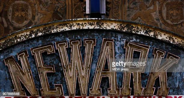 The Newark paramount theater marquee is pictured at downtown on January 18 2018 in Newark New Jersey Amazon has released a shortlist for its...
