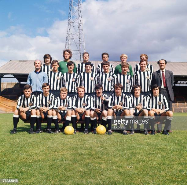 The Newcastle United FC team 1970