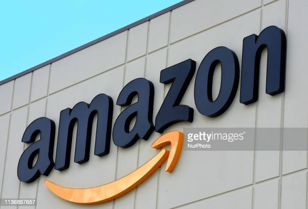 The newest Amazon Robotics fulfillment center is seen during its first public tour on April 12 2019 in the Lake Nona community of Orlando Florida The...