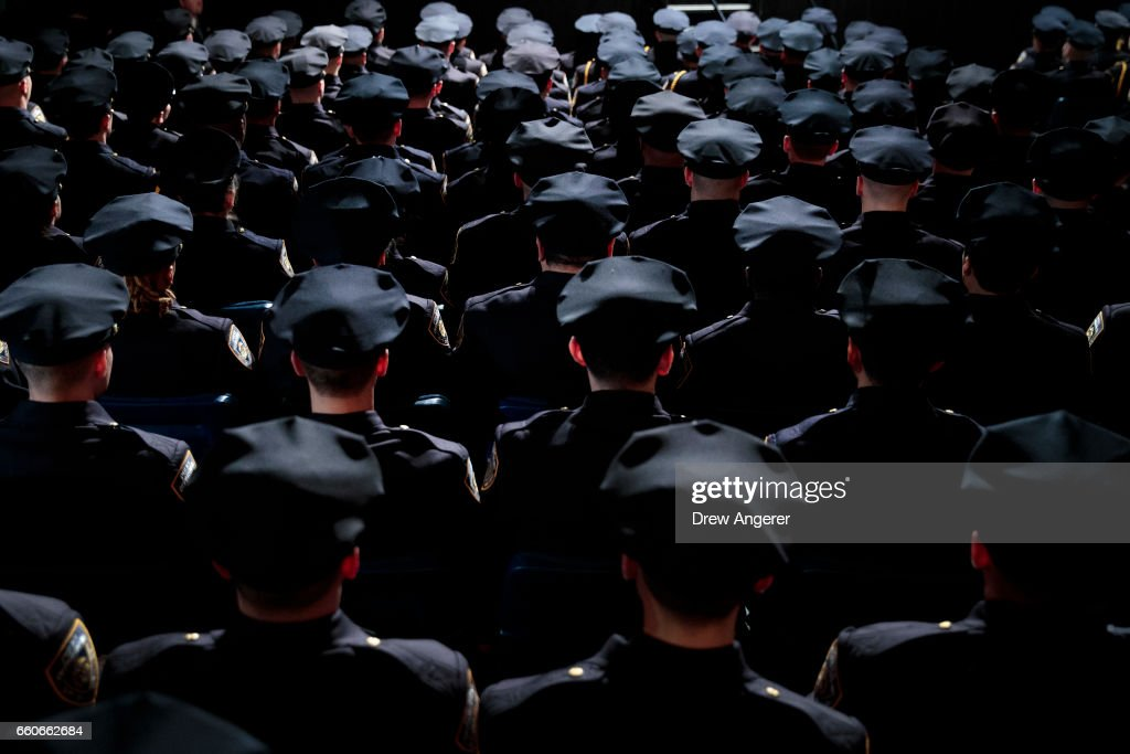 NYPD Graduation Ceremony Held At Madison Square Garden : News Photo