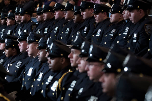 Nypd graduation ceremony held at madison square gardens - Garden city police department ny ...