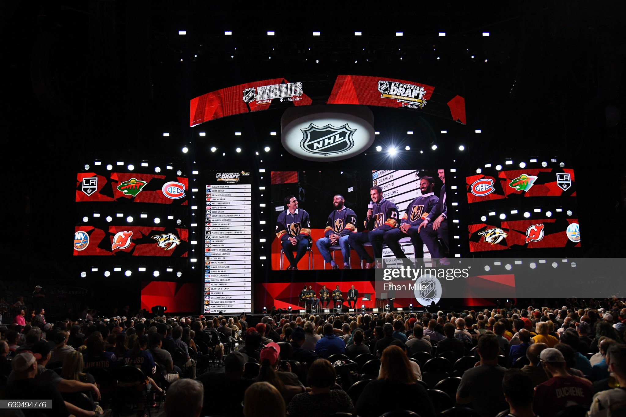 2017 NHL Expansion Draft Roundtable : News Photo