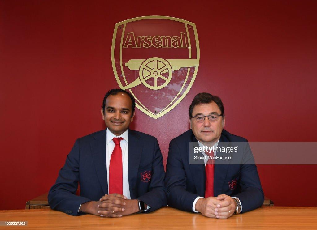 Arsenal Announce Departure of CEO Ivan Gazidis : ニュース写真