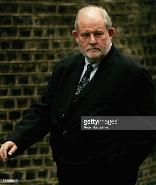 The newly appointed Home Secretary Charles Clarke arrives in Downing Street for the cabinet reshuffle following yesterday's resignation of Home...