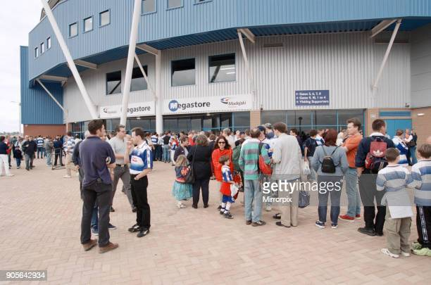 The newly constructed Madejski Stadium is officially opened ahead of the League Division Two match between home team Reading and Luton Town Reading...