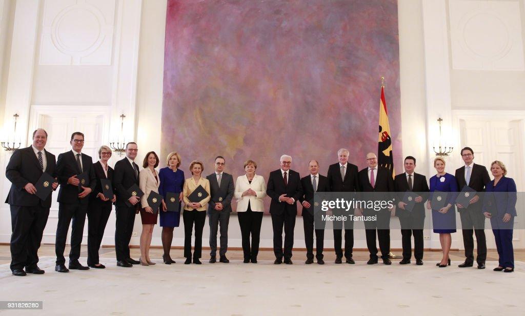 New German Government Sworn In, Merkel Takes Fourth Term