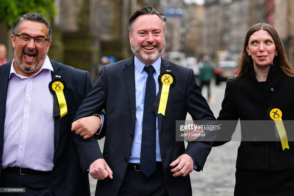 GBR: Declaration Of Scotland's Six Elected MEPs