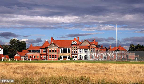 The newly extended clubhouse at Royal Liverpool Golf Club venue for the 2006 Open Championship on August 02 2005 in Hoylake England