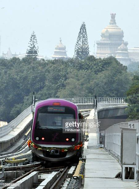 The newly inaugrated Bangalore metro also known as Namma Metro or 'Our Metro' kicked off from Mahatma Gandhi road to Byappanahalli on October 20,...