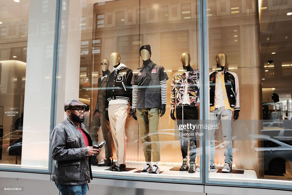 cdf17d49ff7 Nordstrom s Opens First Full-Line Brick And Mortar Store In Manhattan    News Photo