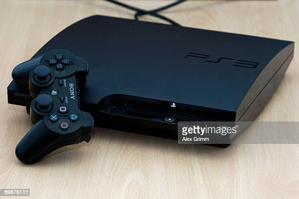 The newly presented Sony Playstation PS3 'Slim' is seen during the 'gamescom' Europe's biggest trade fair for interactive games and entertainment on...