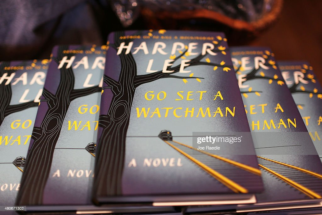 Harper Lee's Go Set A Watchman Goes On Sale : News Photo