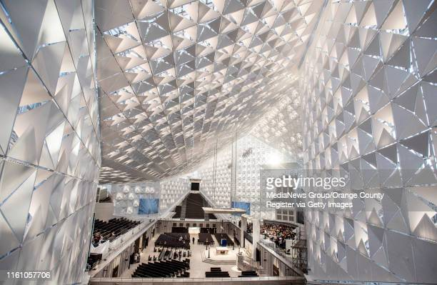 The newly remodeled Christ Cathedral in Garden Grove on Monday July 8 2019 One of the new features of the cathedral is the heatcontrolling...