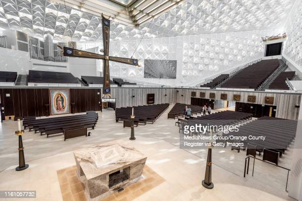 The newly remodeled Christ Cathedral in Garden Grove on Monday, July 8, 2019. One of the new features of the cathedral is the heat-controlling...