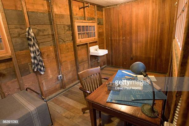 The newly renovated shed where Dave Packard stayed on Addison Avenue is seen December 8, 2005 in Palo Alto, California. In 1939 Bill Hewlett and Dave...