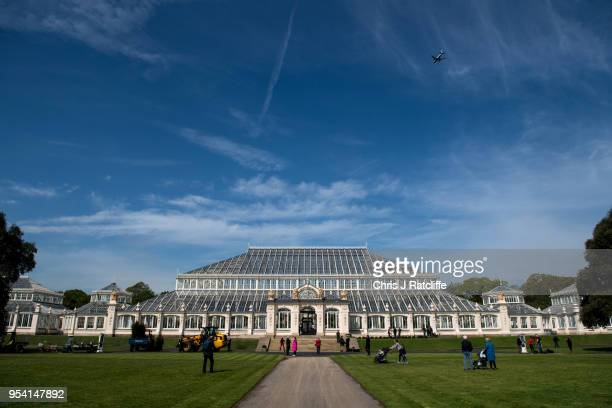 The newly renovated Temperate House reopens to the public at Kew Gardens on May 3 2018 in London England £41 million has been spent on the...