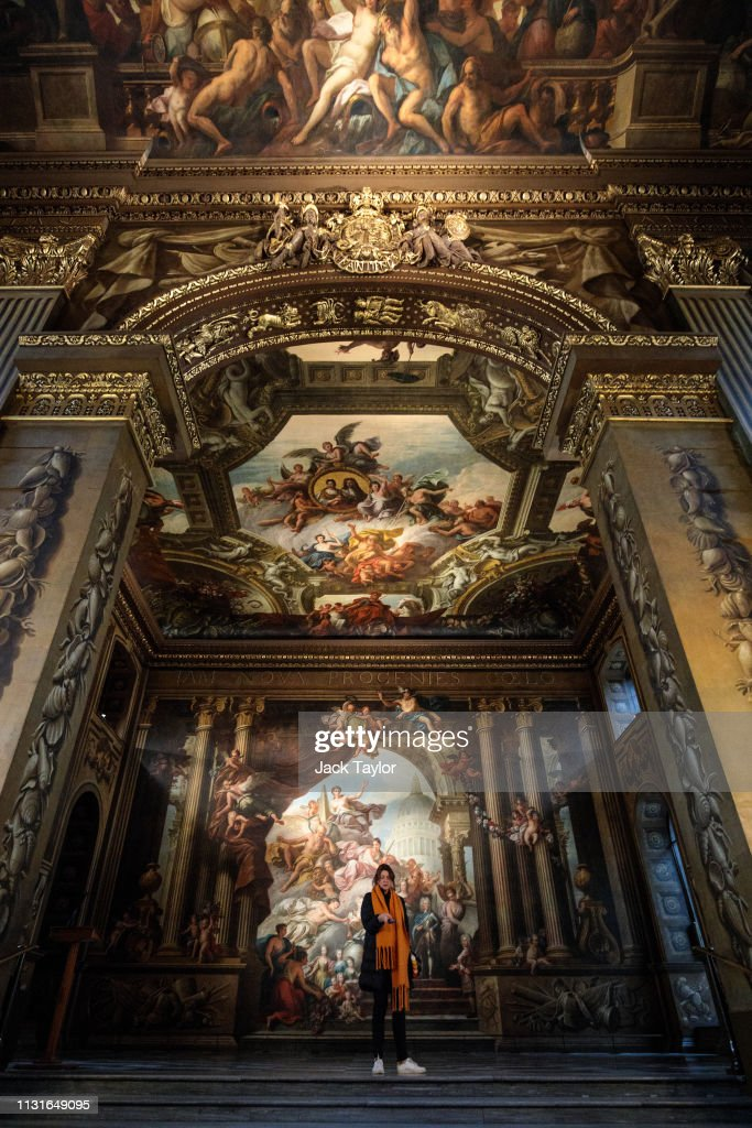 GBR: The Painted Hall, Old Royal Naval College Reopens After Extensive Conservation Project