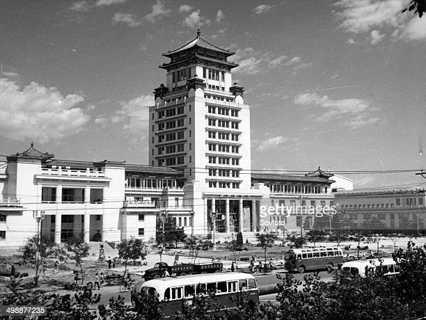 The newlybuilt Cultural Palace of Nationalities in Peking September 1959