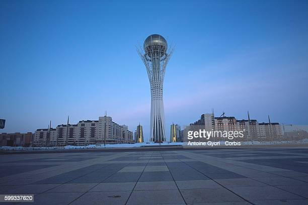 The newlyerected Baiterek in Kazakhstan's capital Astana The construction boom in the Kazakh capital Astana is raising hackles Once a sleepy town in...