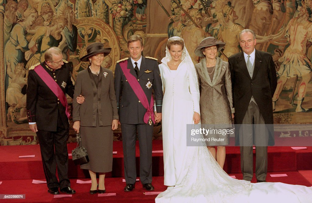 WEDDING OF PHILIPPE AND MATHILDE : News Photo