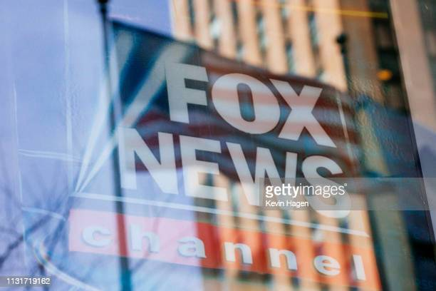 The News Corp building on 6th Avenue home to Fox News the New York Post and the Wall Street Journal on March 20 2019 in New York City New York Disney...