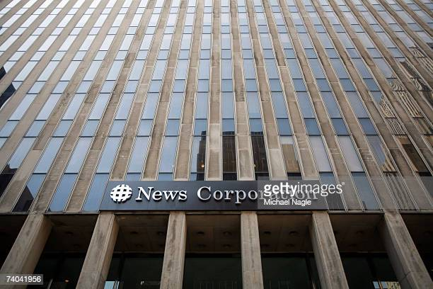 The News Corporation building is shown May 01, 2007 in New York City. Rupert Murdoch's News Corporation made an unsolicited bid today of $5 billion...