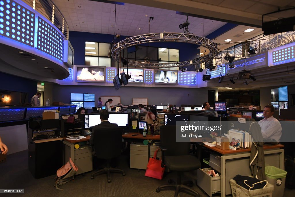 The newsroom at Fox 31 in on June 12, 2017 in Denver