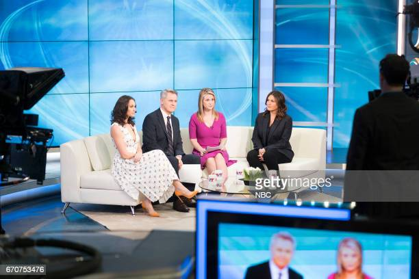 UNIT 'The Newsroom' Episode 1817 Pictured Paloma Guzmán as Davina Delucci Mark Moses as George Thanos Bonnie Somerville as Heidi Sorenson Mariska...