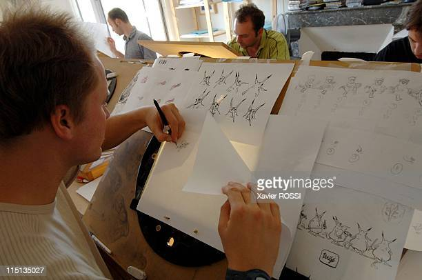 U the next French animation film in Angouleme France on August 19 2005