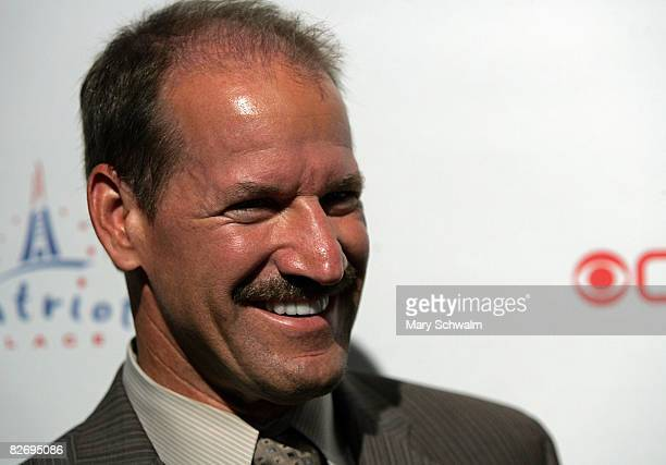 The NFL Today's Bill Cowher attends the grand opening of the CBS Scene Restaurant Bar on September 6 2008 in Foxboro Massachusetts