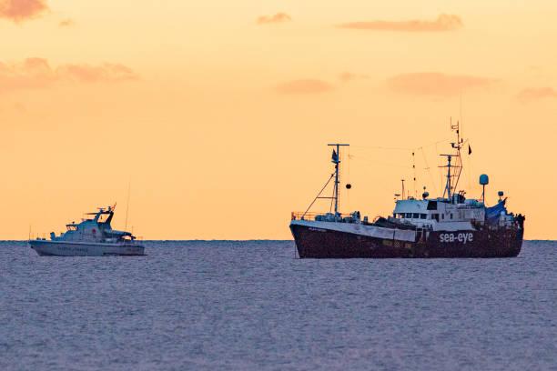 ITA: Alan Kurdi Rescue Ship Docks In Sardinia