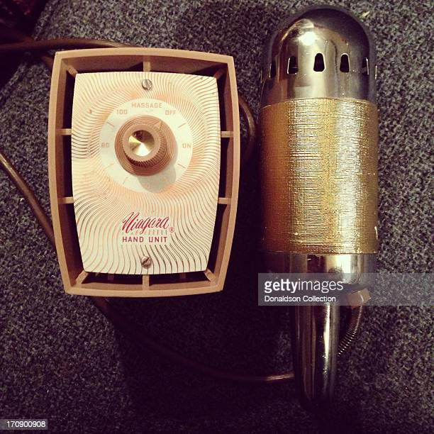 The Niagara Hand Unit a 1950's era vibrator photgraphed on June 7 2013 in Los Angeles California