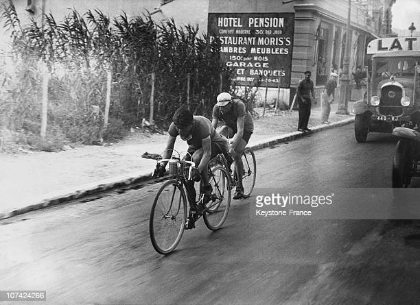 The Nice Cannes Stage At The Twenty Eighth Tour De France In France On July 16Th 1934