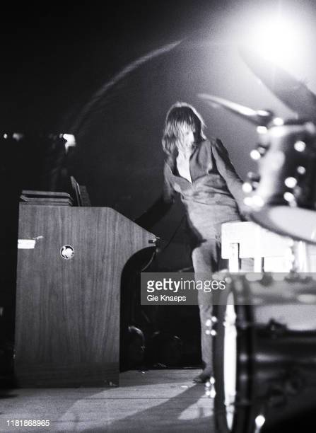 The Nice, Keith Emerson, First International Pop Event, Arenahal, Deurne, Belgium, 21st June 1969.