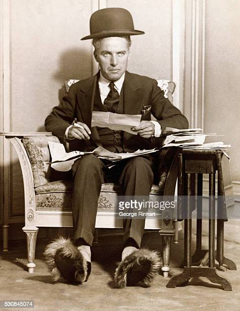 The nicest part of my job says Charlie Chaplin as he wades through the piles of telegrams of good luck in his suite at the Ritz Carlton where the...