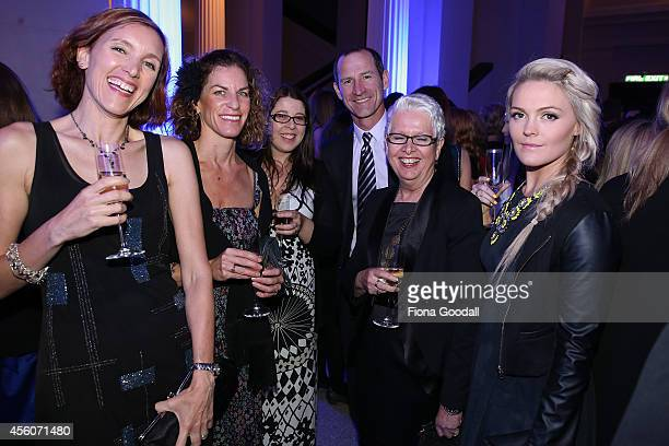 The Nielsen team at the 2014 MPA Awards at Auckland Museum on September 25 2014 in Auckland New Zealand