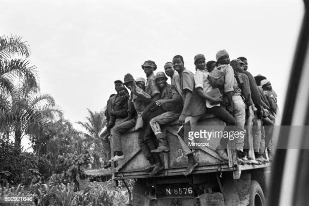 The Nigerian Civil War also known as the Biafran War 11th June 1968