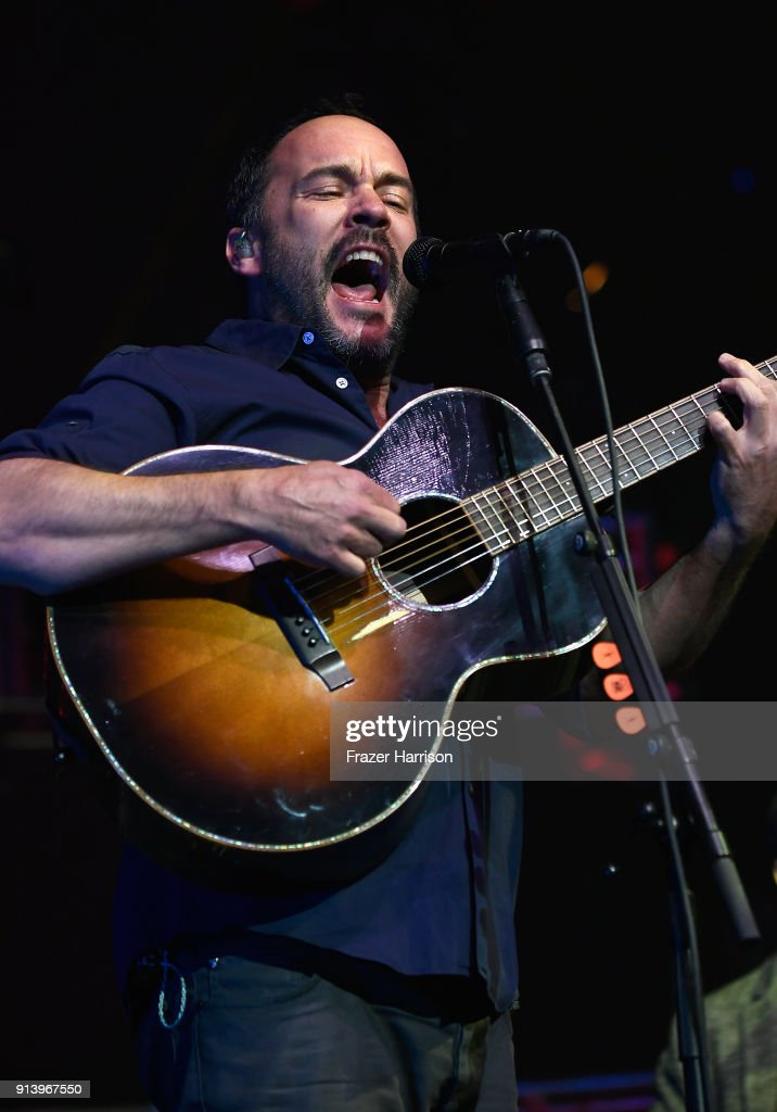 The Night Before Dave Matthews Band Presented by Entercom on February 3, 2018 in St Paul, Minnesota.